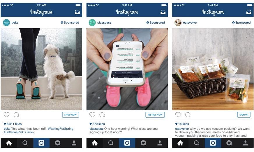 Adverteren Instagram komt er aan!