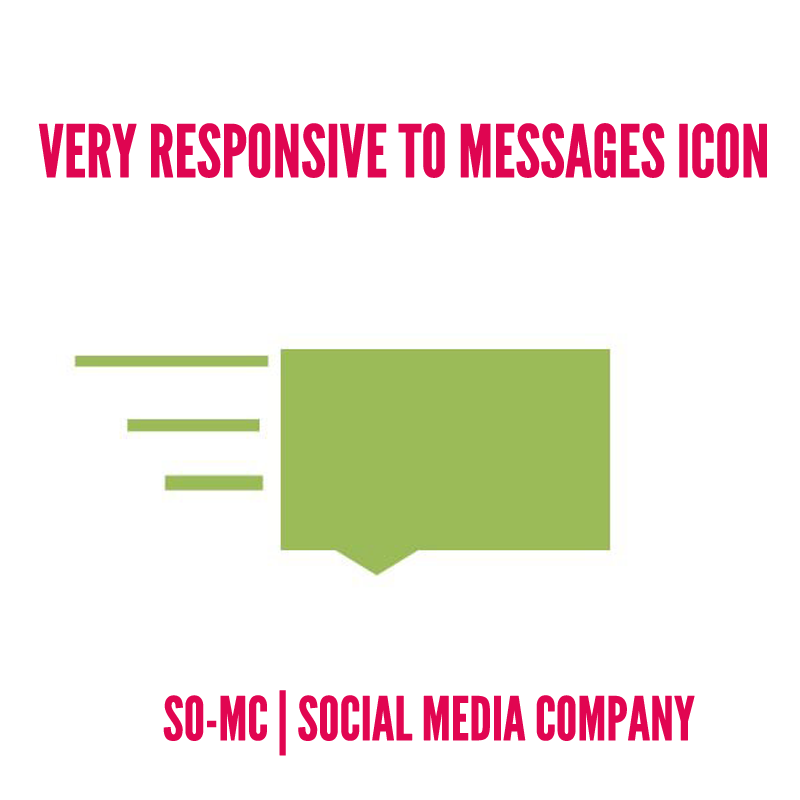 Very Responsive to messages icon Facebook 2