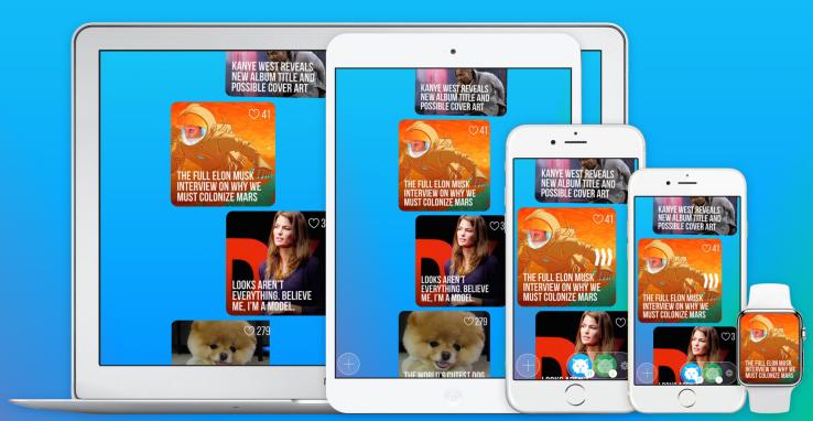 Lynx social media app