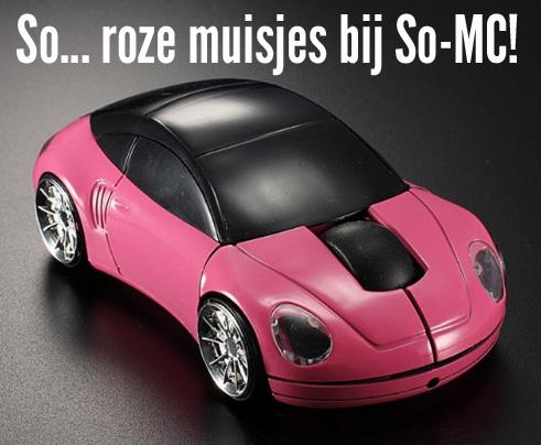 Roze muisjes bij So-MC