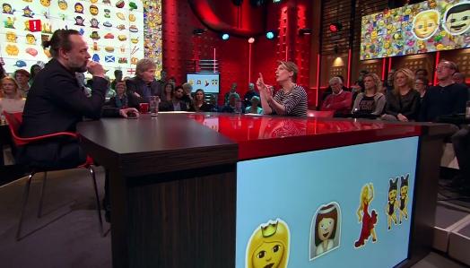 Emoji film in De Wereld Draait Door