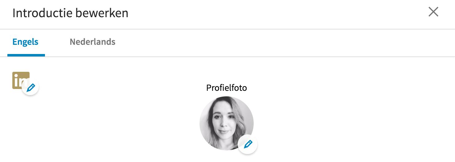 Je profielfoto aanpassen in LinkedIN met filters