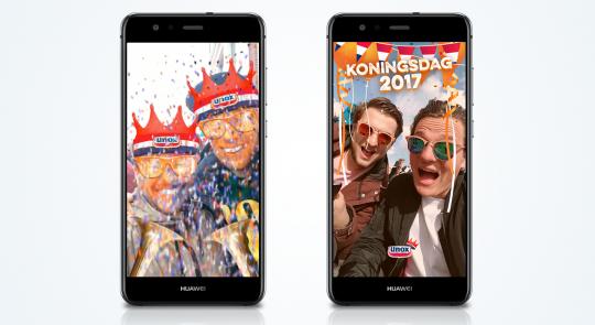 Snapchat Adverteren Sponsored Lens