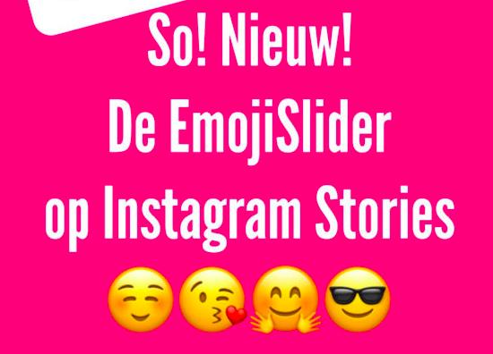 Instagram story emoijslider