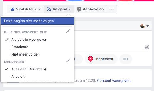 Het verschil tussen een Facebook Fan en een Facebook volger