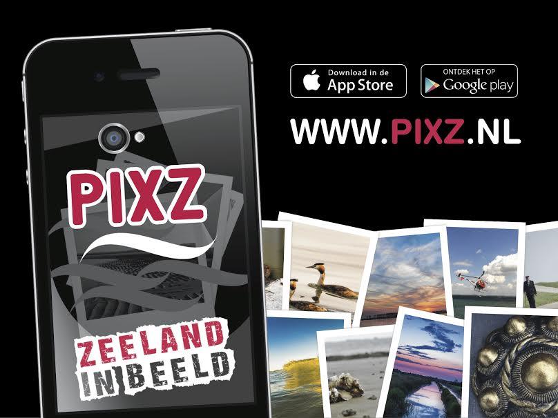 PIXZ photosharing app