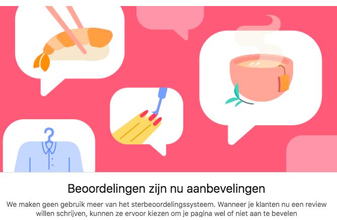 Facebook Aanbevelingen