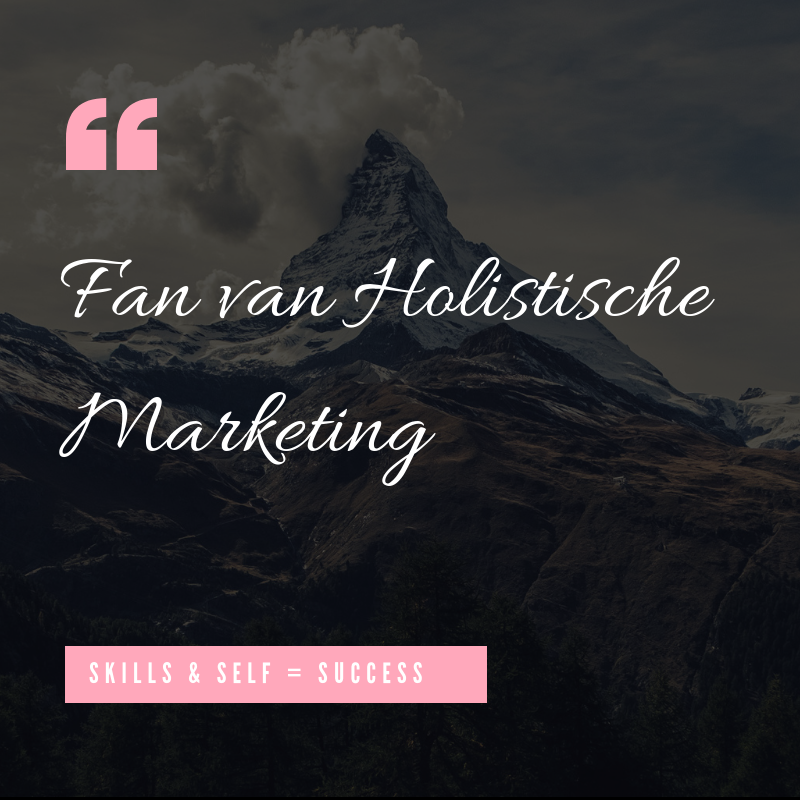 Fan van Holistische Marketing