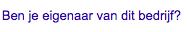 Jouw Google Business page claimen