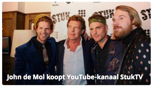 John de Mol koopt StukTV