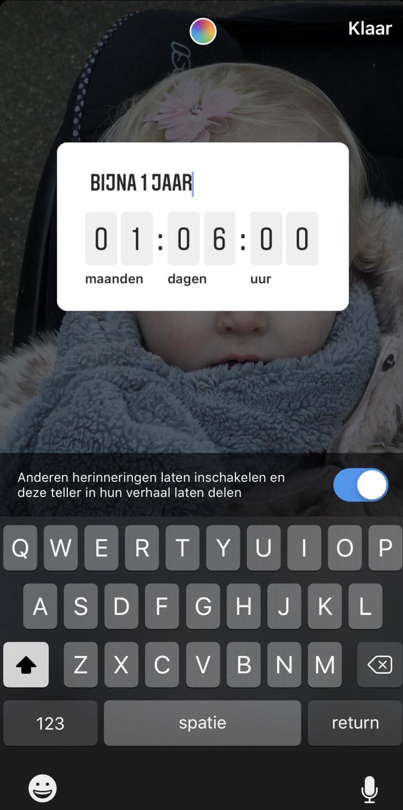 Instagram Story Marketing Aftellen