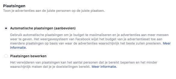 Adverteren op Facebook en Instagram; waar plaats ik mijn advertentie?