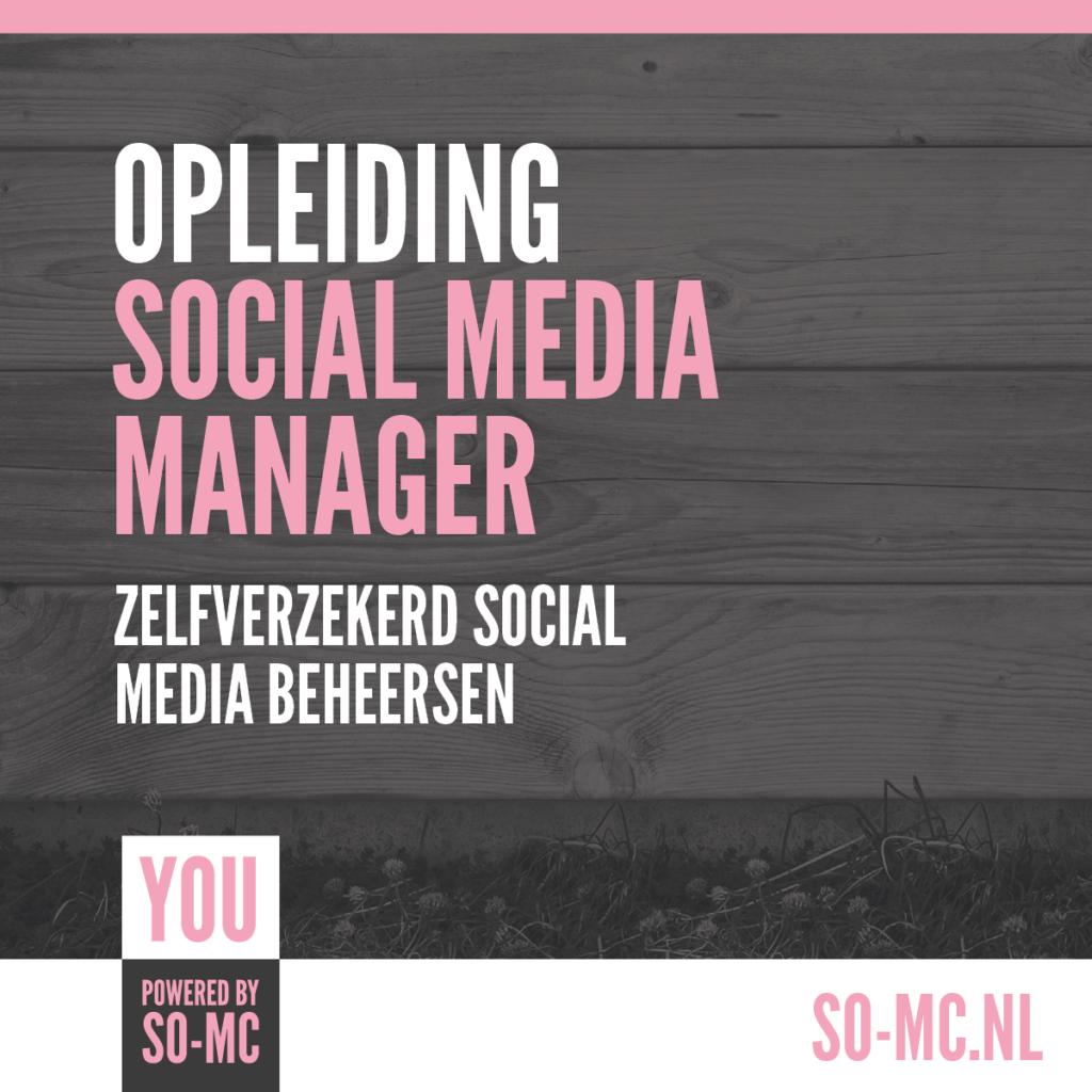 Opleiding Social Media Manager