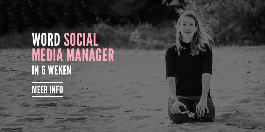 Word Social Media Manager! Nu met korting!