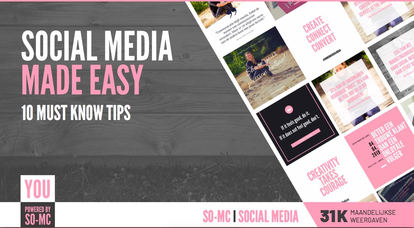 Gratis E-Book Social Media