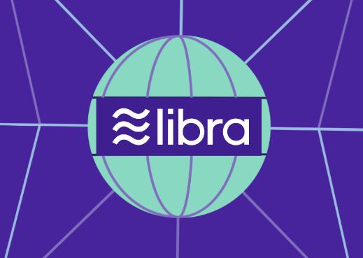 Libra; de munt van Facebook