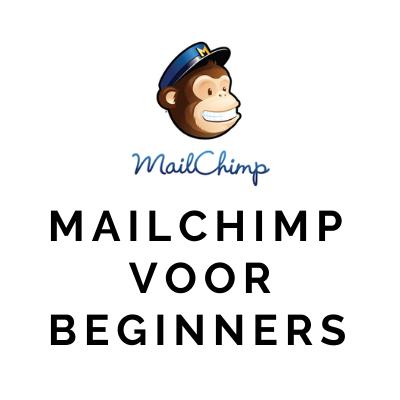 Mailchimp voor beginners