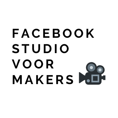 Facebook Studio voor Makers