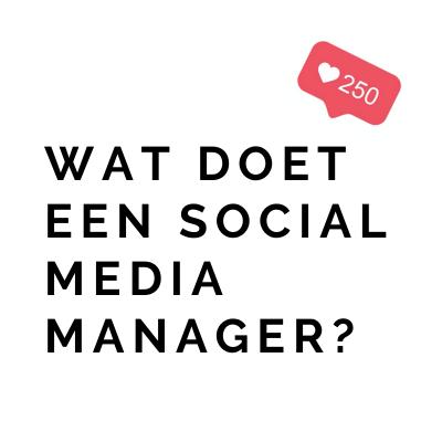 Wat doet een Social Media Manager_