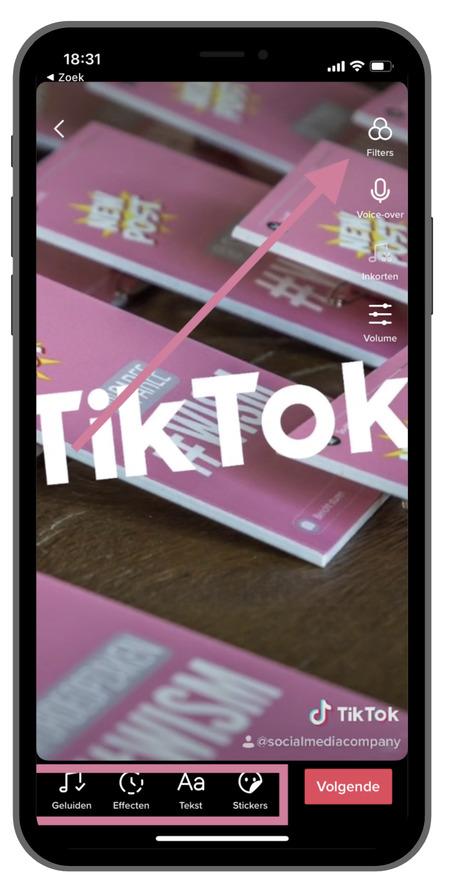 TikTok bewerken en editten