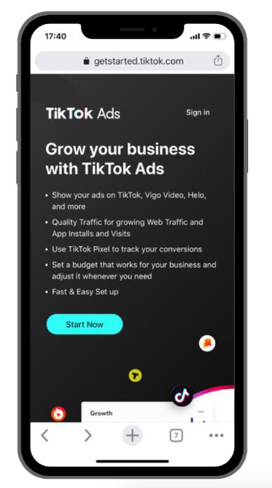 TikTok Adverteren voor Bedrijven