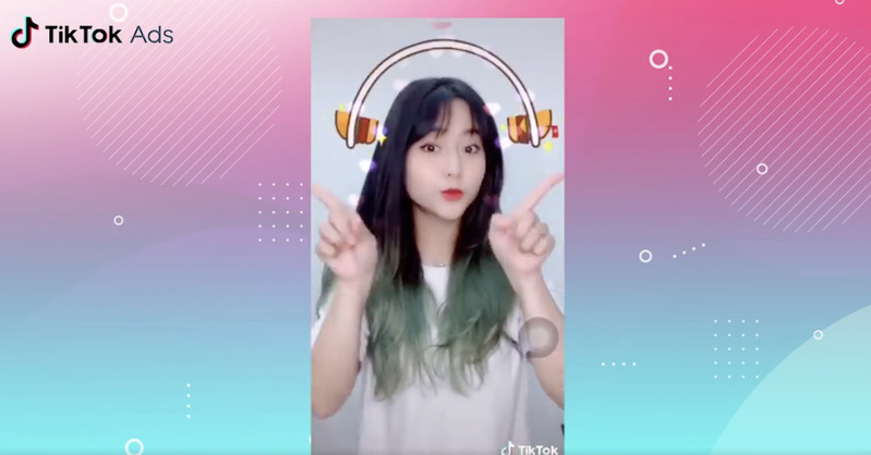 TikTok Branded Effects advertentie