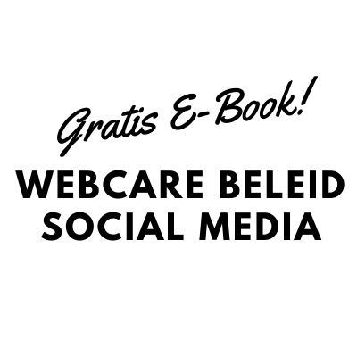 Webcare beleid Social Media